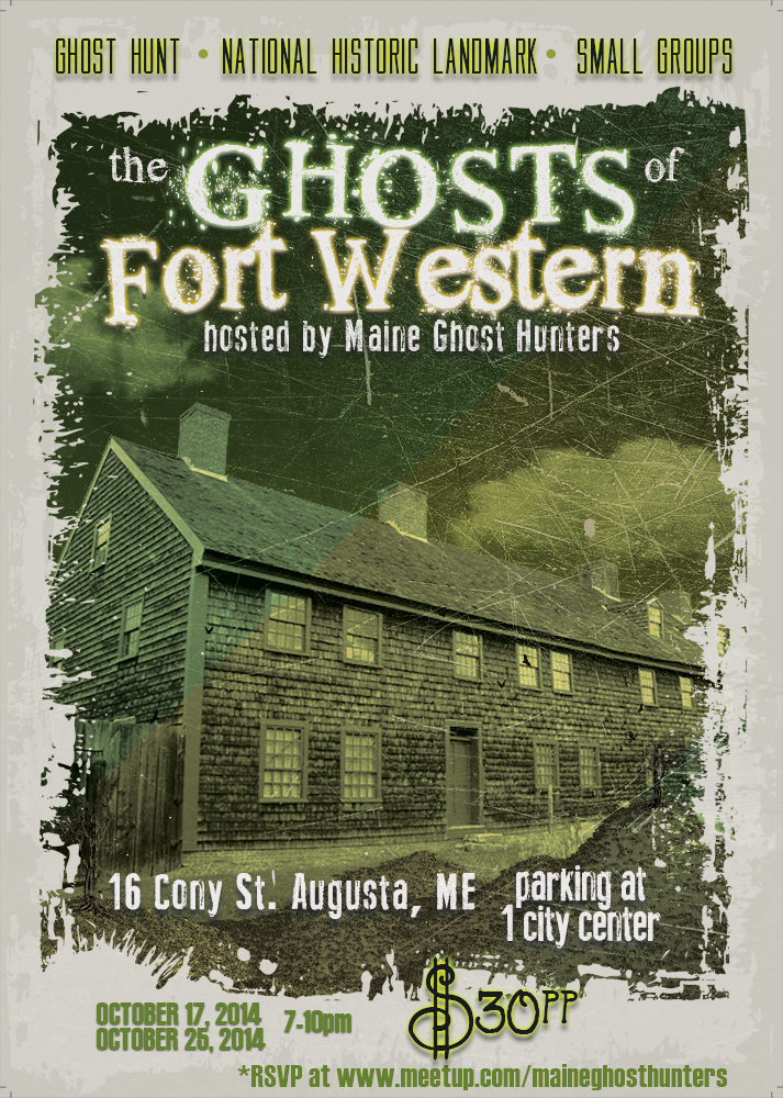 Investigate The Ghosts of Fort Western (1754) with Maine Ghost Hunters