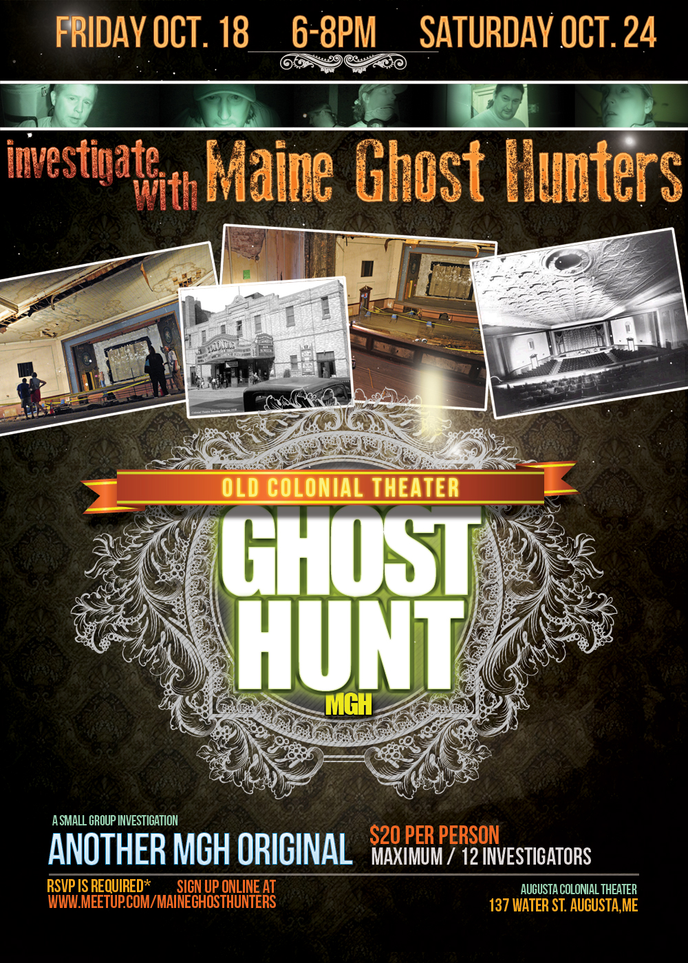 Investigate the old Colonial Theater (1913)